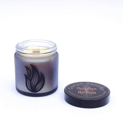 Coffee & Bread - Rapeseed Wax & Wood Wick Screw Top Candle