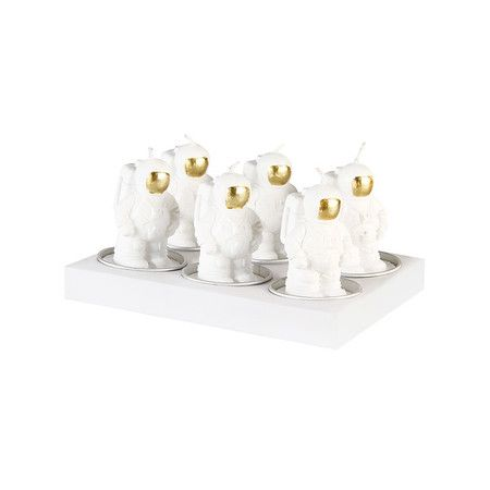 Mini Astronaut Candles - 6 pack