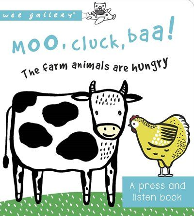 Moo, Cluck, Baa! APlay and Listen Book