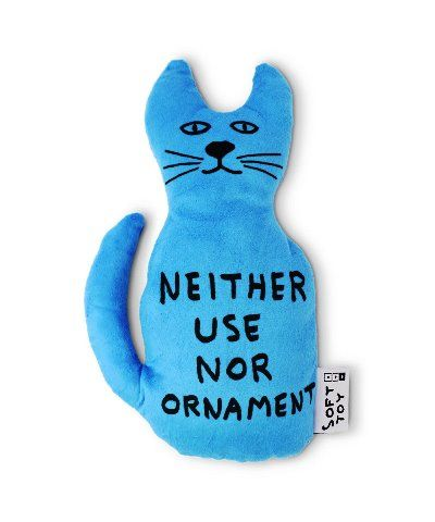 Ornament Cat Toy - David Shrigley