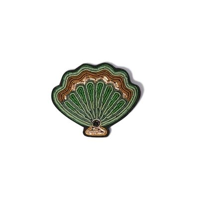 Scallop Shell Brooch