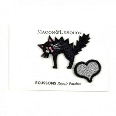Scared Cat and Heart Patch