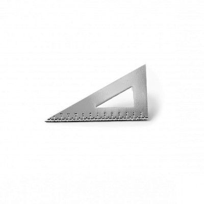 Setsquare Metal Pin Badge