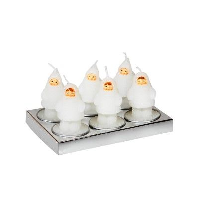 Snowdoll Candles (Pack of 6)
