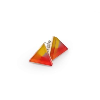 Spin Triangle Earrings