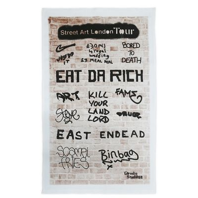 Street Art London Tour Tea Towel