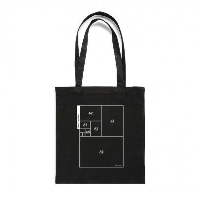 Table of Paper Sizes - Tote Bag