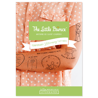 The Little Prince - Temporary Literary Tattoos